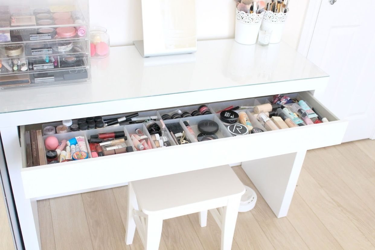 My Dressing Table And Makeup Storage