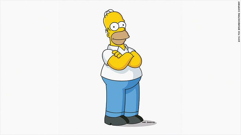 Homer Simpson Will Go Live On The Simpsons Simpsons Characters Homer Simpson The Simpsons