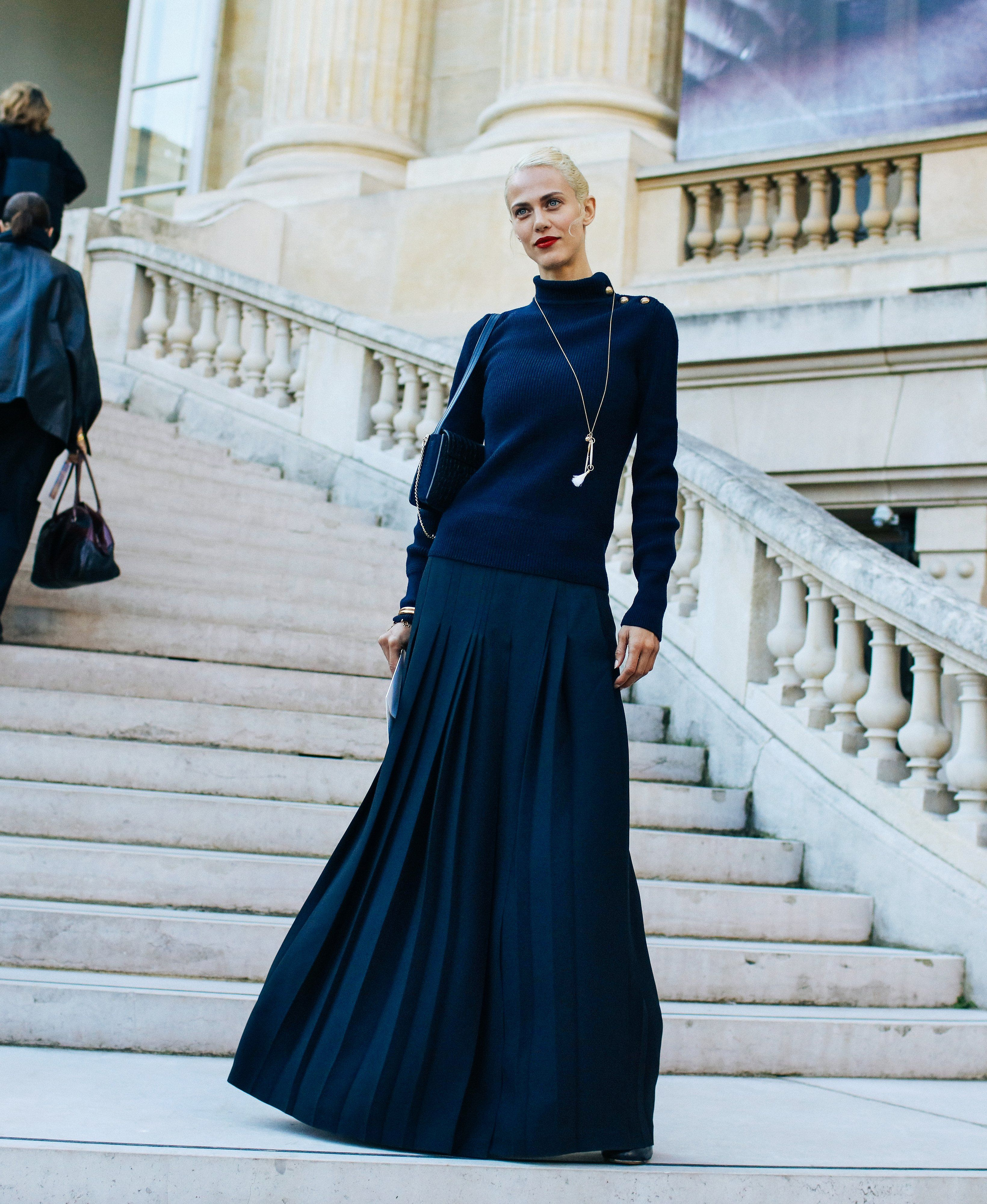 The Best Street Style Looks of Paris Fashion Week- this is my favorite one!