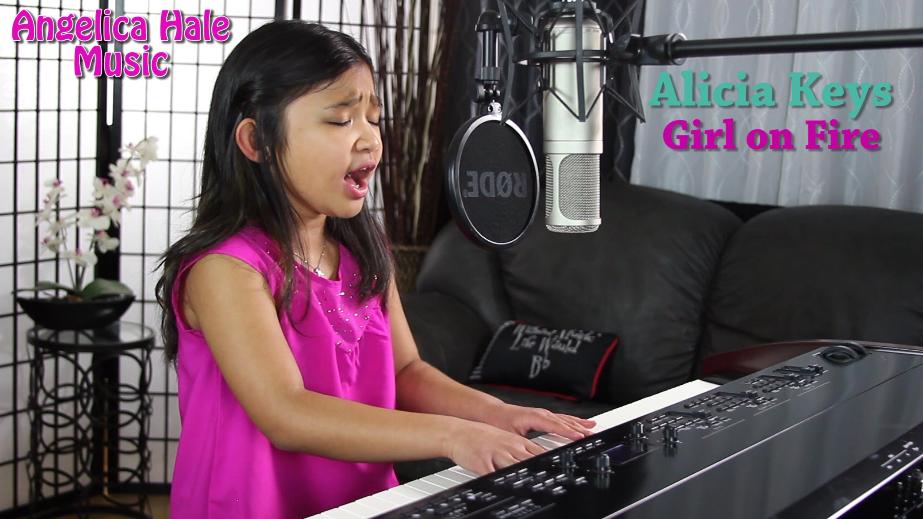 Alicia Keys Girl On Fire Amazing Cover By 9 Year Old Angelica