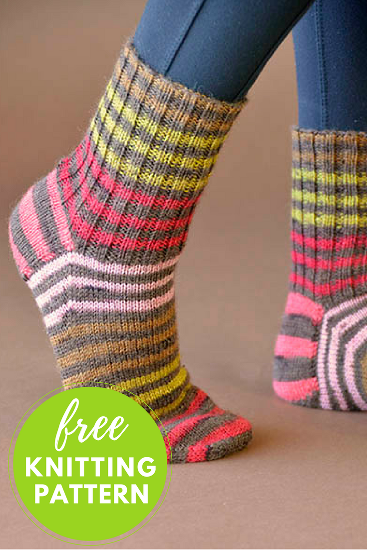 Back to Basics Socks Free Knitting Pattern - 1 skein knitting ...