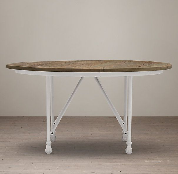 Flatiron Round Dining Table With Images Round Dining Table
