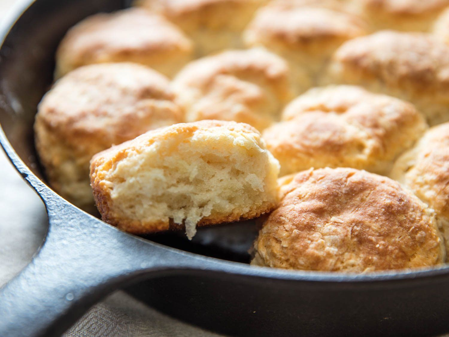 How To Make Light And Fluffy Biscuits Without Buttermilk Homemade Biscuits Recipe Fluffy Biscuits Easy Homemade Biscuits