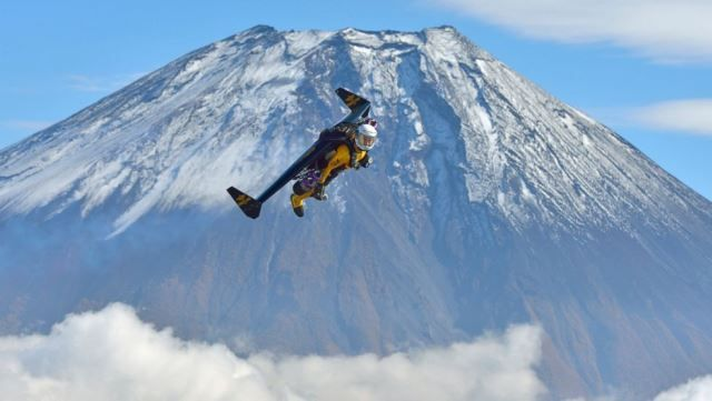 If you love adventure, you'll love what Yves Rossy has done. The Swiss ex-pilot, known as Jetman, has built his own set of wings that allow him to fly high and up to 185 miles per hour!