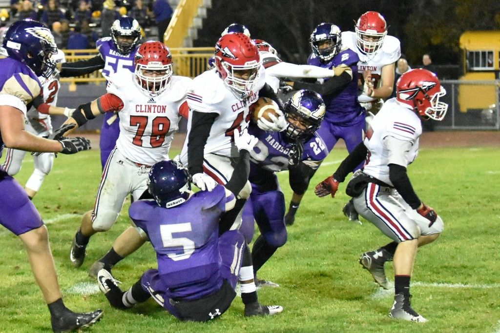 20151106 chs football at madison heights madison hs