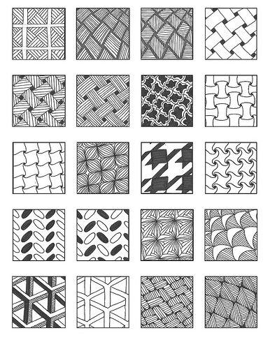 Grid 40 In 40 Art Program Pinterest Zentangle Patterns Gorgeous Tangle Patterns