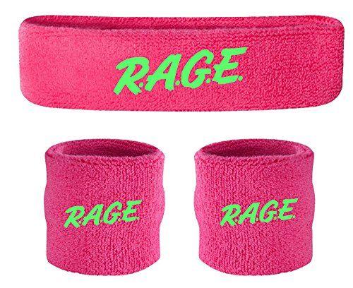 Funny Guy Mugs Party//Rage Unisex Sweatband Set 3-Pack: 1 Headband /& 2 Wristbands