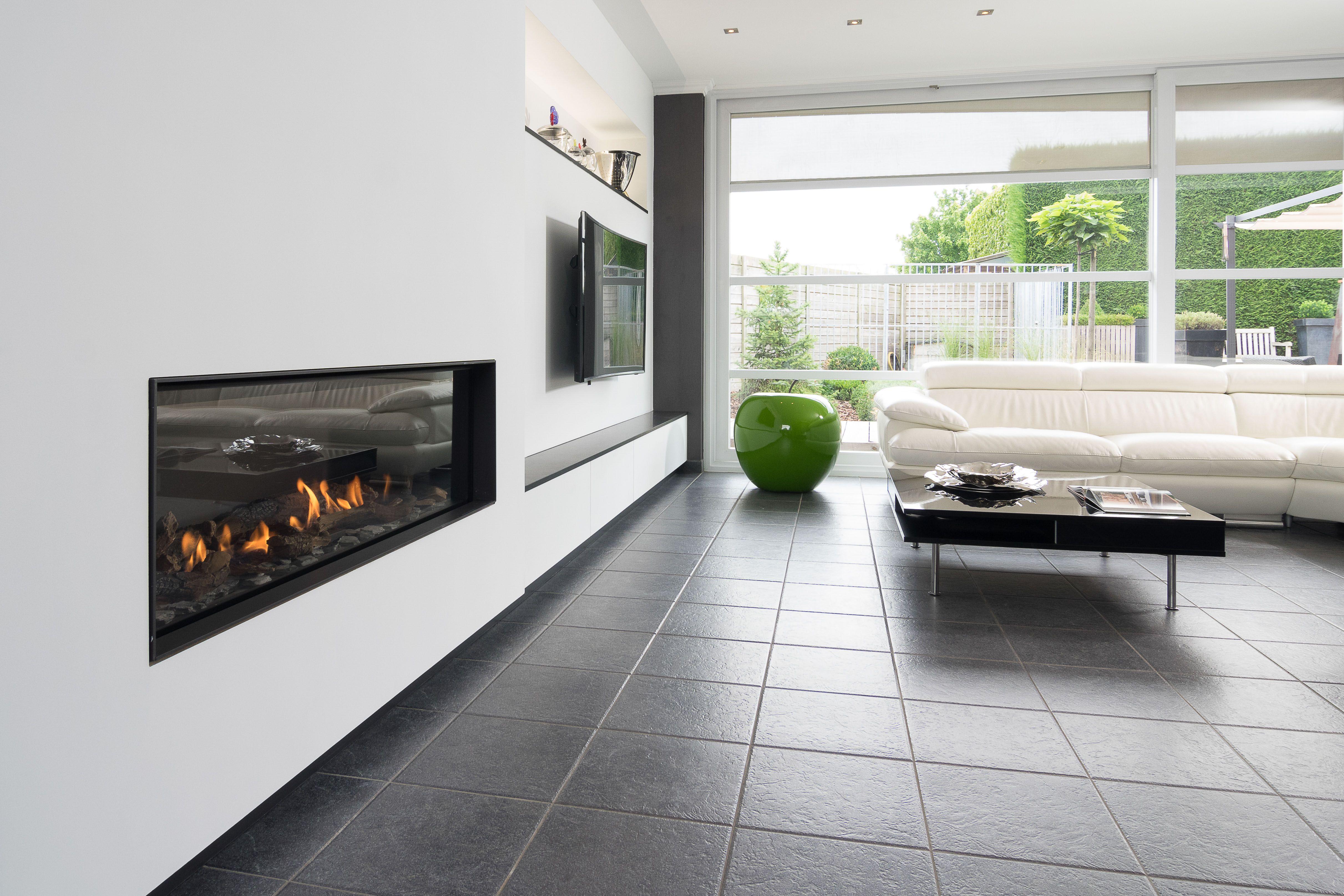 Kast Woonkamer Modern : Openhaard haard vuur gasvuur gas frontmodel bellfires modern
