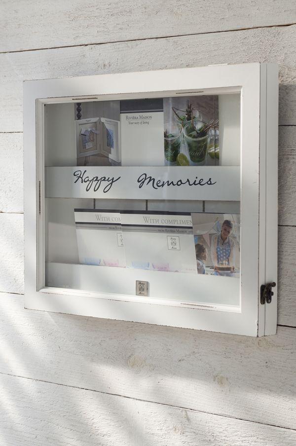 Rivièra Maison Webstore - accessoires | (Foto) Lijsten & Spiegels | Verzamellijsten | Happy Memories Vintage white - 59,96