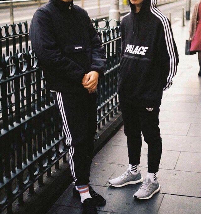 Adidas x Palace Track JAcket | Ropa urbana hombre, Ropa