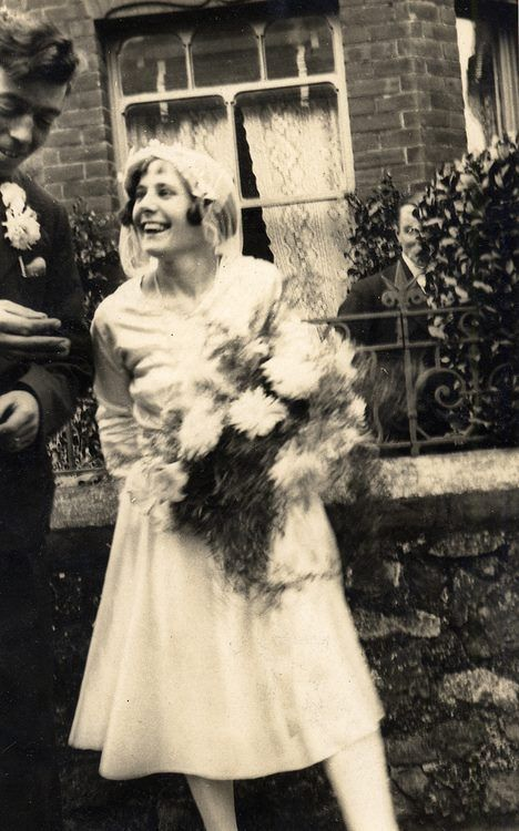 Happy bride, c.1930