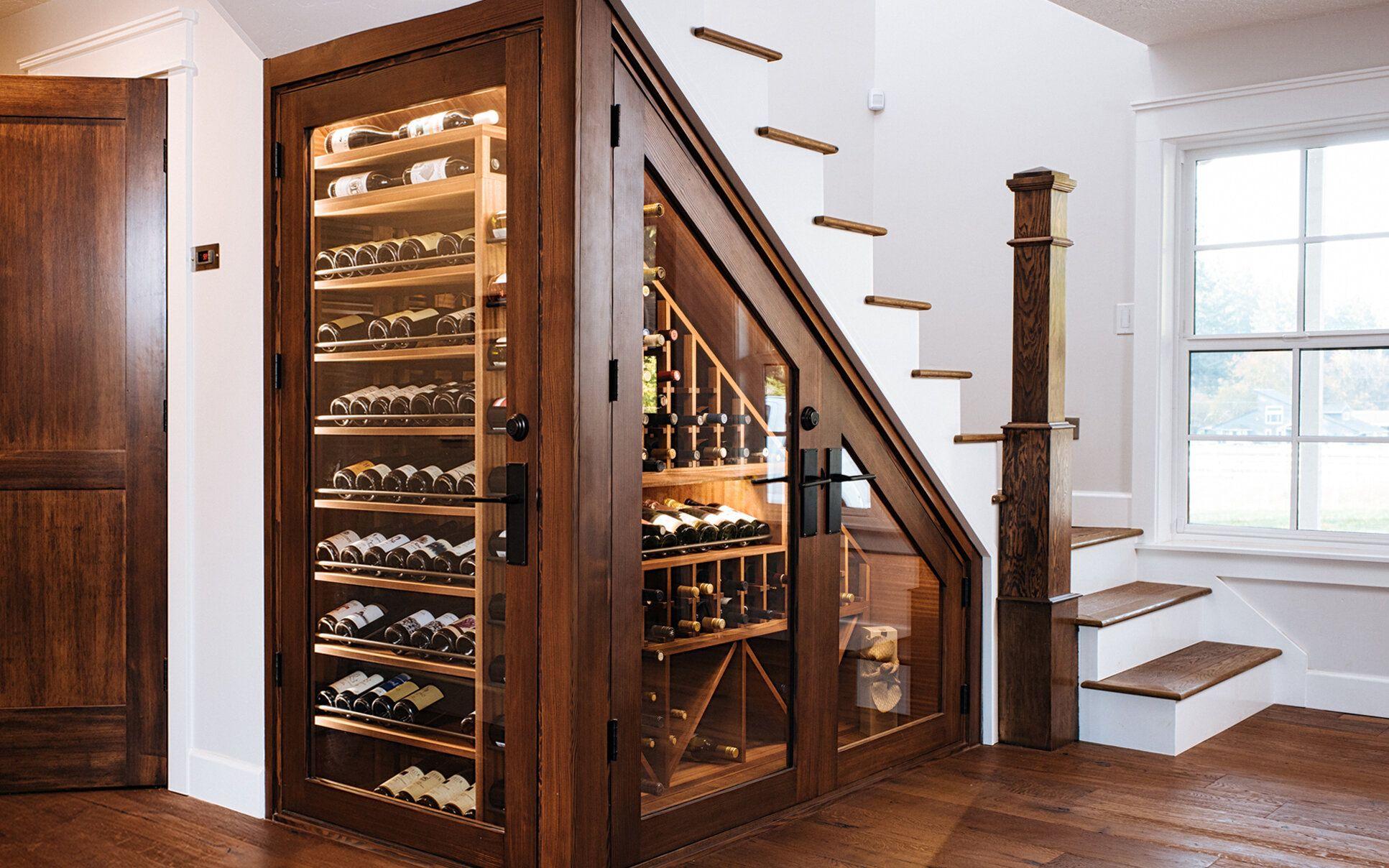 Under Stairs Wine Cellar Under Stairs Wine Cellar Home Wine Cellars Under Stairs