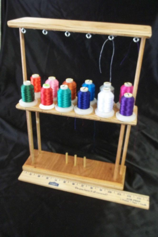 Embroidery Machine Thread Stand Holds 12 Spools Embroidery