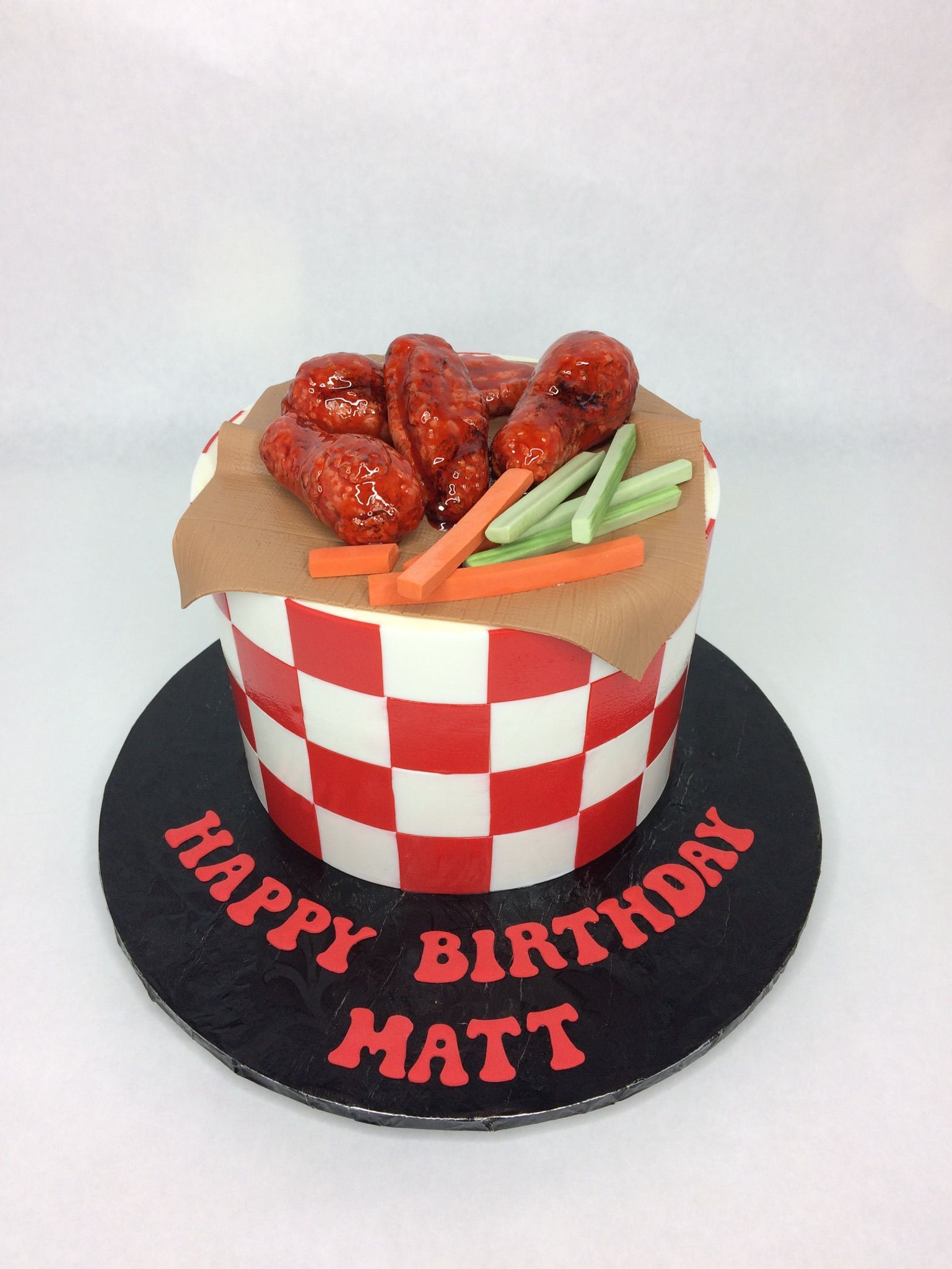 Chicken wings cake custom cakes food cakes seattle