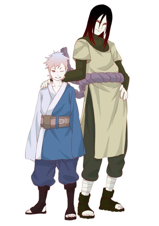 Mitsuki is Orochimaru's son   ????? Then who's the mother