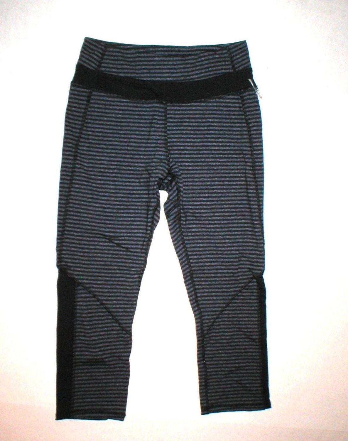 854e12e66a NWT Women s KYODAN Cropped Capri Running Yoga Fitness Workout Pant Gray Size  XS