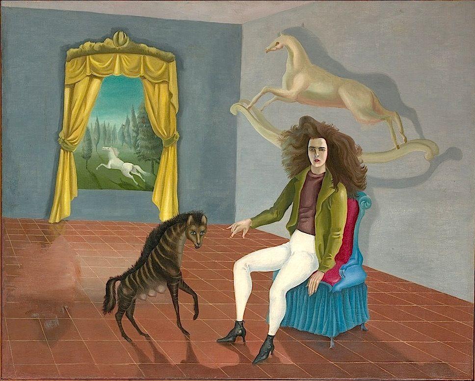 Self-Portrait (The Inn of the Dawn Horse) - Leonora Carrington ...