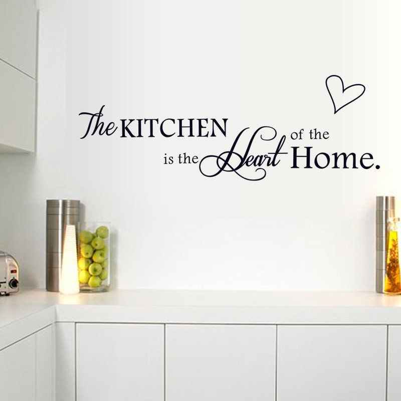 Kitchen Wall Decal The Kitchen Is The Heart Of The Home The