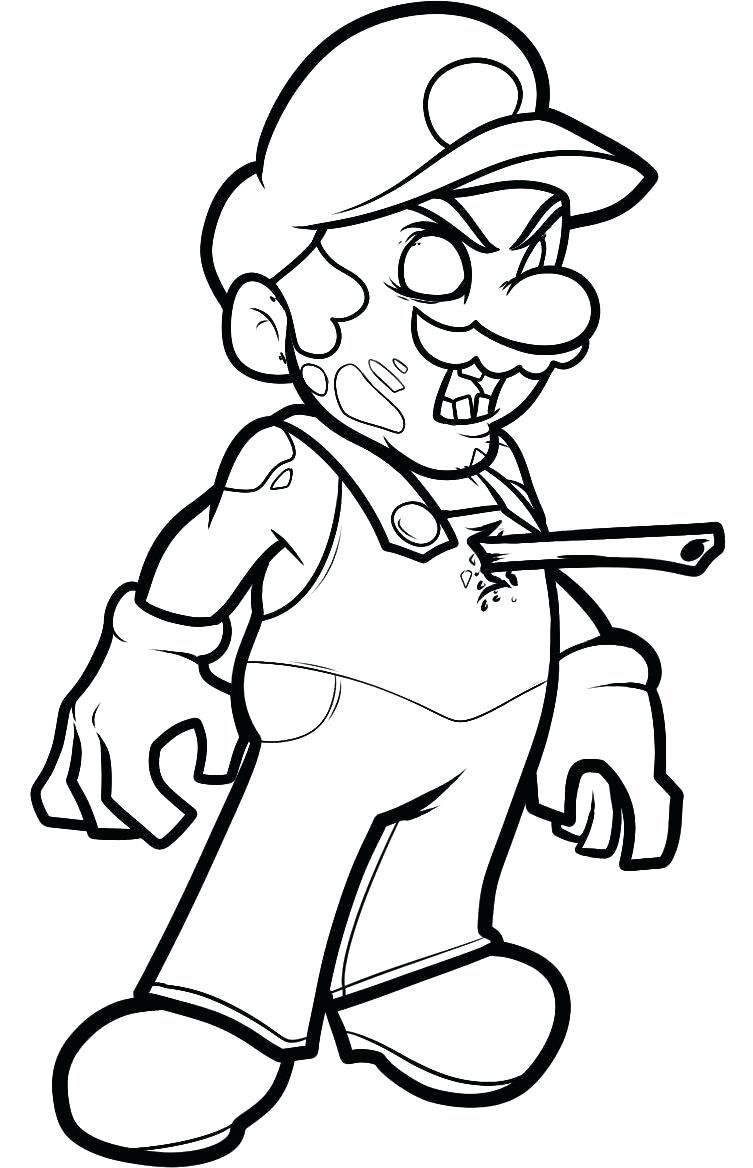 Disney Channel Zombies Coloring Pages | Mario coloring ...