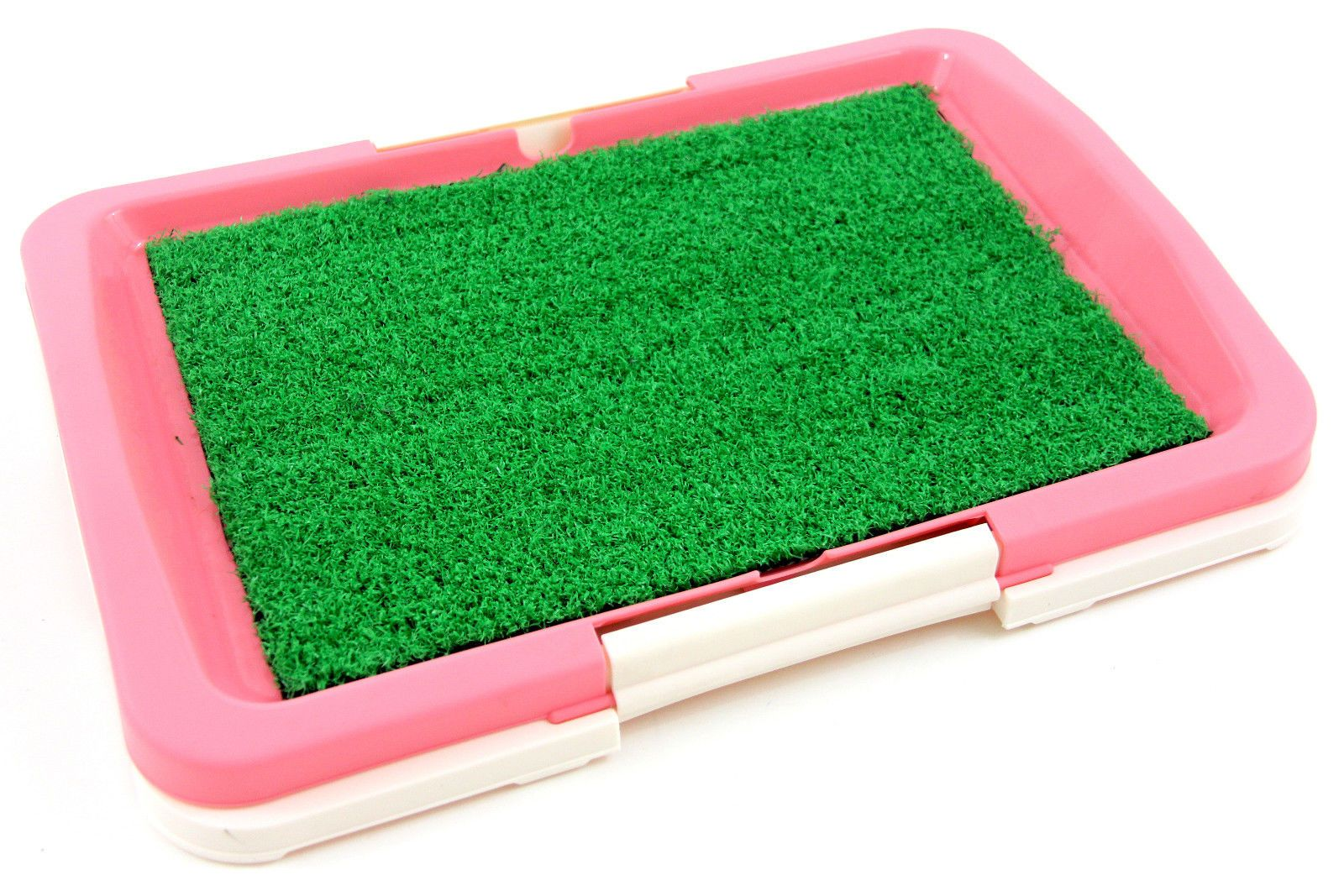 Puppy potty grass mat dog trainer indoor pee pad pink pet