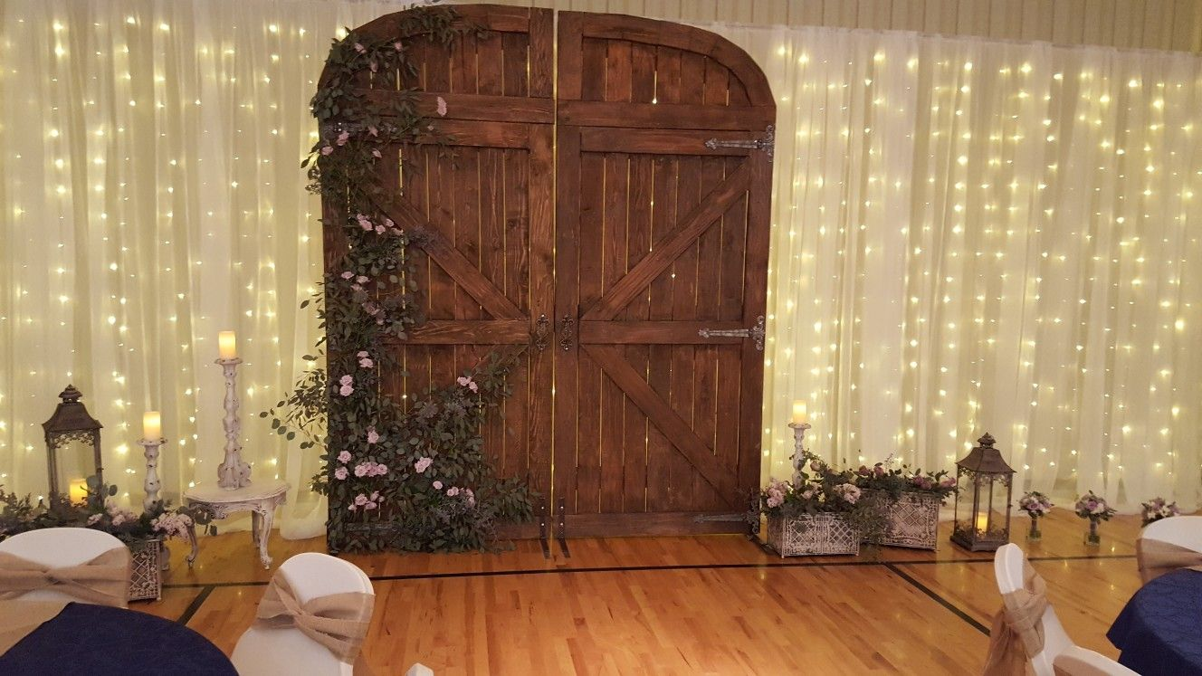 These Stunning Barn Doors Are 10 Feet Tall Barn Door Wedding Arch 10 Feet Tall