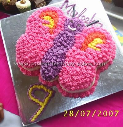 Coolest Butterfly Birthday Cakes Butterfly birthday cakes