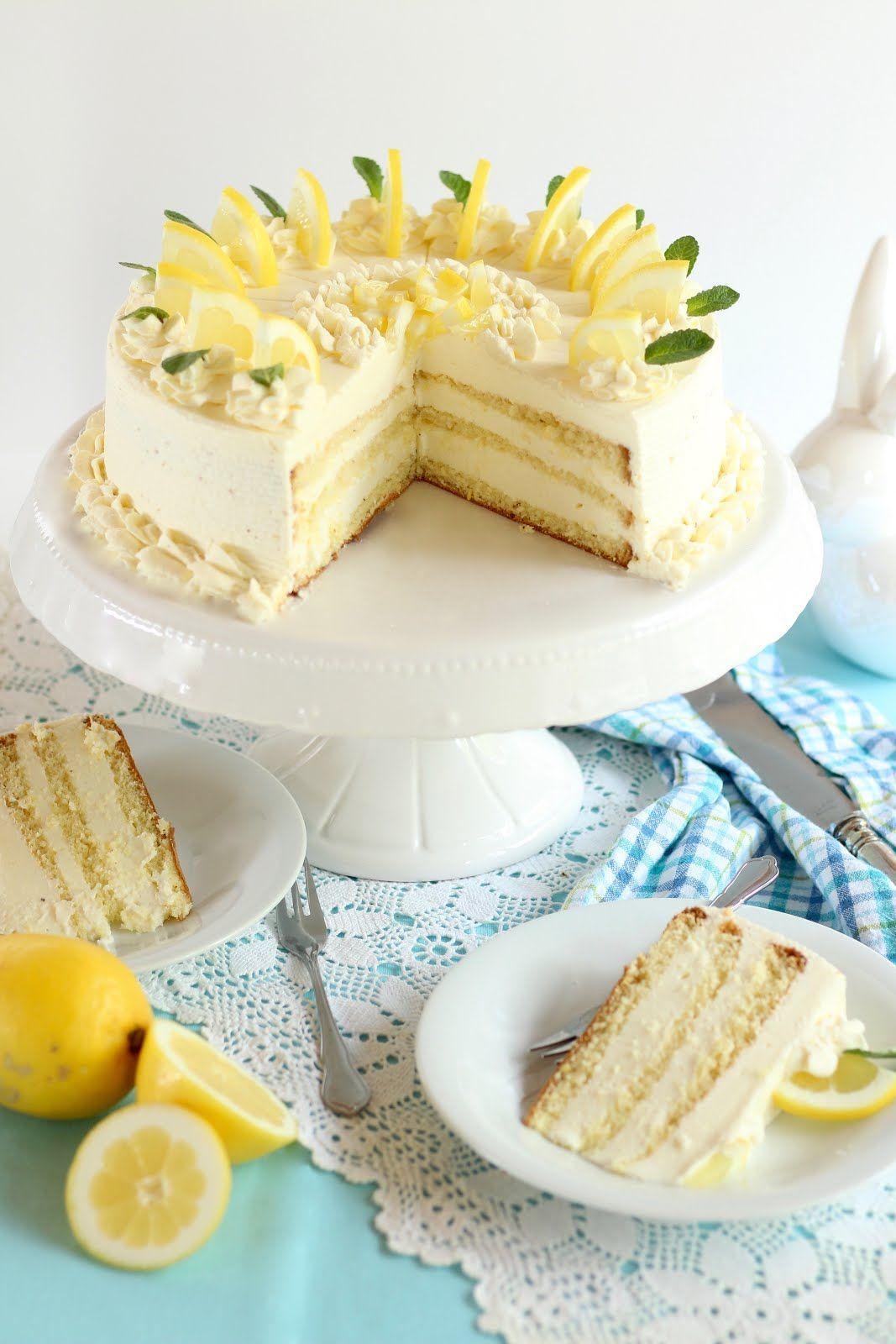 Lemon Tart With Delicious Buttermilk And Lemon Cream Lemon Cream Buttermilk Cream Delicious Lemon Tart In 2020 Easter Recipes Delicious Lemon Tart