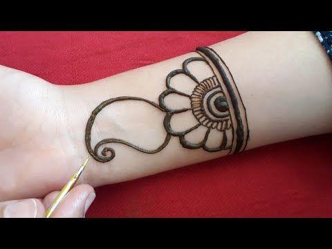 arabic easy mehendi designs simple
