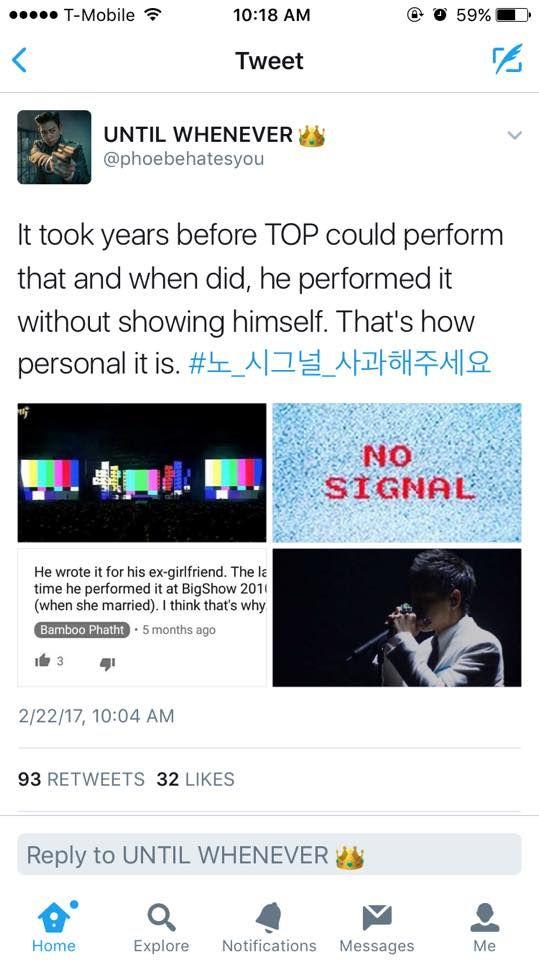 #노_시그널_사과해주세요 #KCAFavGlobalMusicStar  #BIGBANG