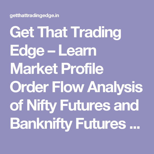 Get That Trading Edge – Learn Market Profile Order Flow Analysis of