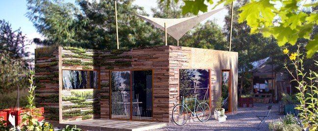Tiny houses modulhaus minihaus mikrohaus pinterest for Minihaus bausatz