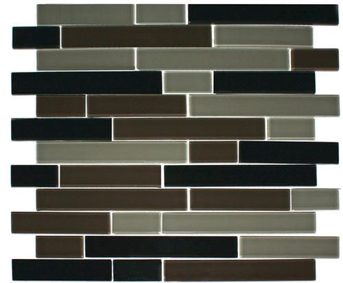 Find This Pin And More On Kitchen Backsplash Tiles Random Glass Mosaic Tile 1 At Menards