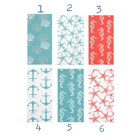 Table Runner Ocean Beach Theme Choose Turquoise By Itssovintage