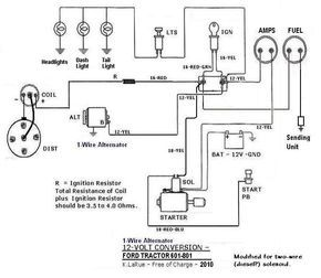 f592356950ccb158bb1d798764a82f2a 12 volt 8n ford tractor wiring diagram wiring diagram explained