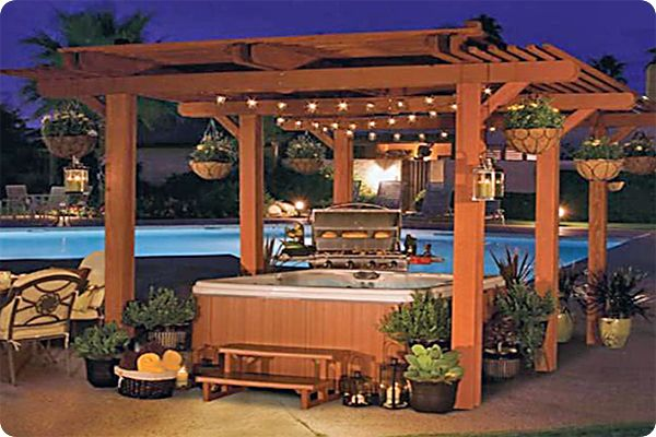 Hot Tub Gazebo Http Gazebokings Com Building Your Own Garden Hot