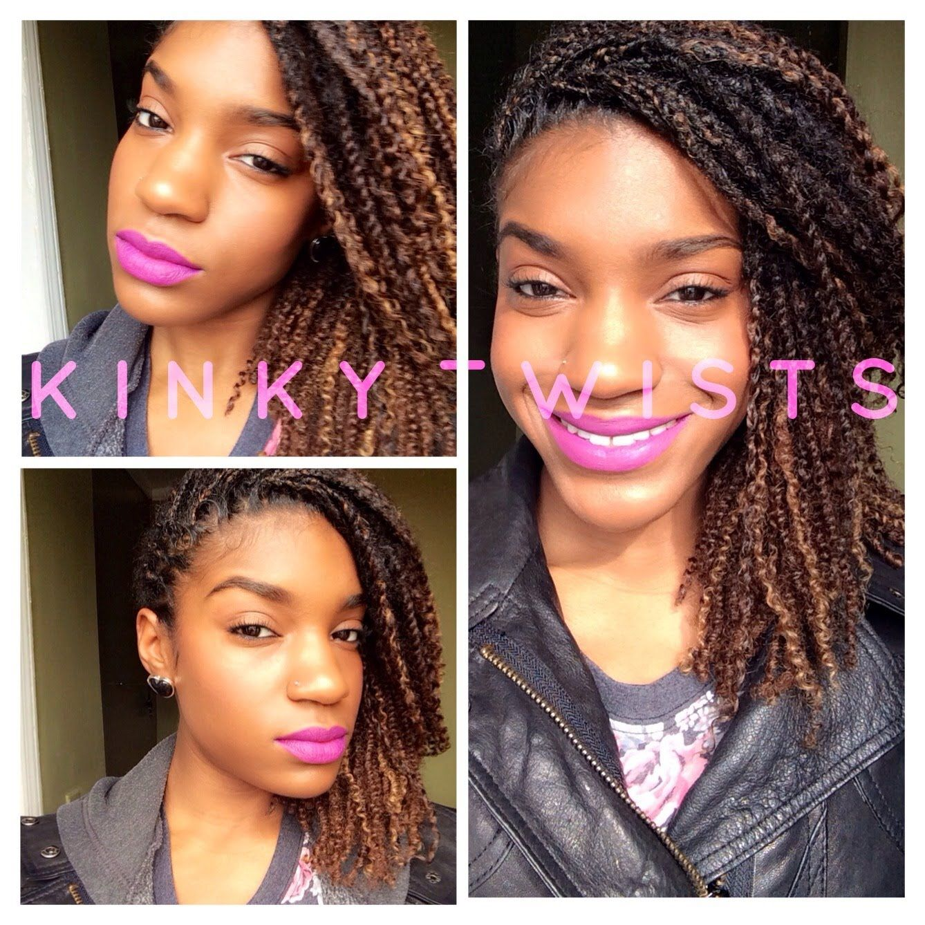 PROTECTIVE STYLE: All About My Kinky Twists with Human Kinky Hair!