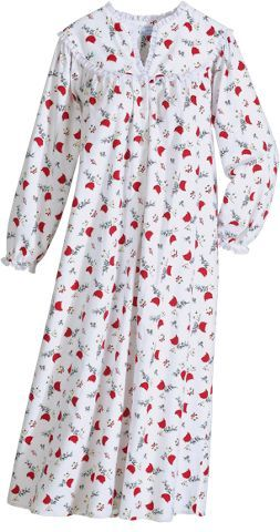 9aff2b14c205 Flannel nightgown