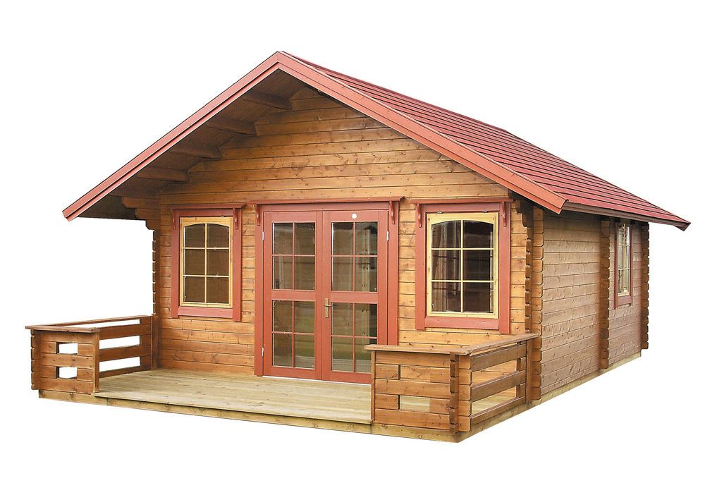 Delicieux Cabin Kit Lillevilla Getaway Comes With The Loft Log Cabin