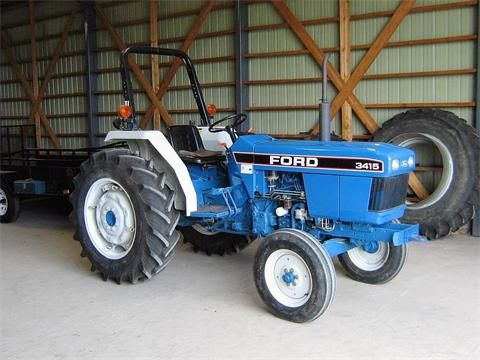 Ford 3415 Tractor Google Search Ford News Tractors Compact