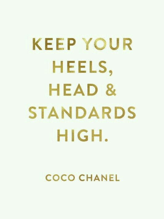 Chanel Style Quotes Fashion Quotes Style Inspiration