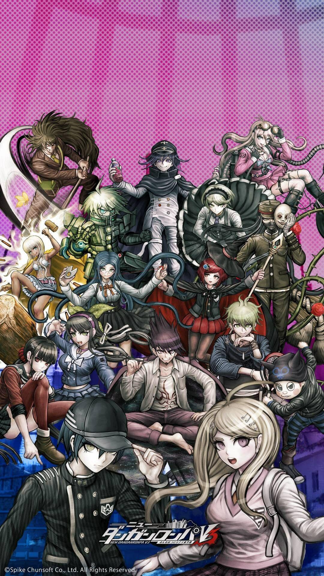 Pin By Saiko Youtube On Etc Anime Wallpaper Danganronpa Anime Background