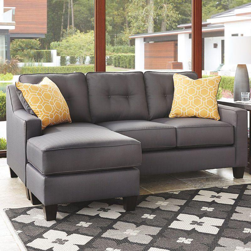 signature designashley aldie nuvella sofa chaise