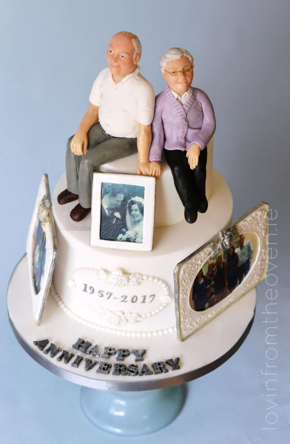 60th Anniversary Cake by Lovin' From The Oven