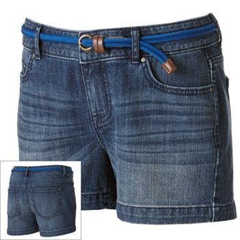 ELLE Denim Shorts - Women's