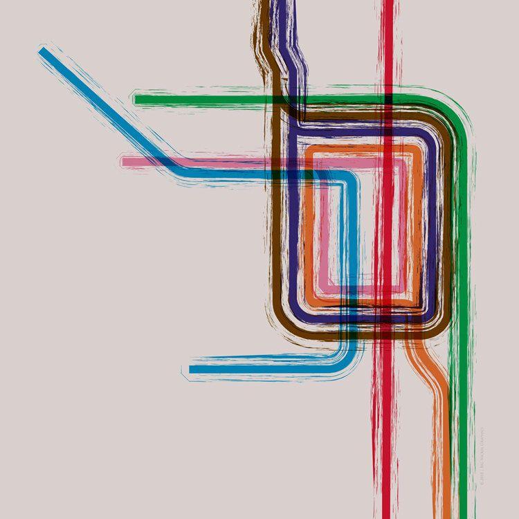Chicago Loop Gallery Wrap Canvas - 12x12. $90.00, via Etsy ...