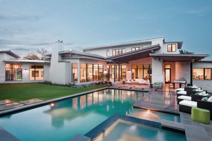 Moderne luxushäuser mit pool  Pin von Cindy Jelinek auf House | Pinterest
