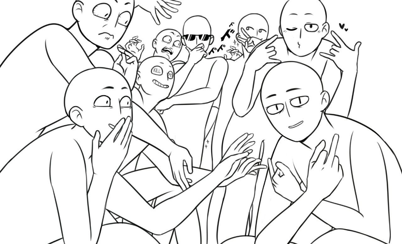 Draw The Squad Drawing Meme Funny Drawings Drawing Base