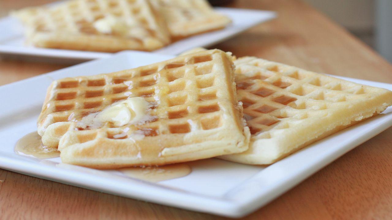 Easy Buttermilk Waffles Recipe Recipe Homemade Waffles Buttermilk Waffles Recipe Waffle Recipes