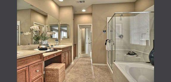 home bathroom design 2. Belmont at San Elijo Hills by Lennar Homes  Encore Bathroom Design 2