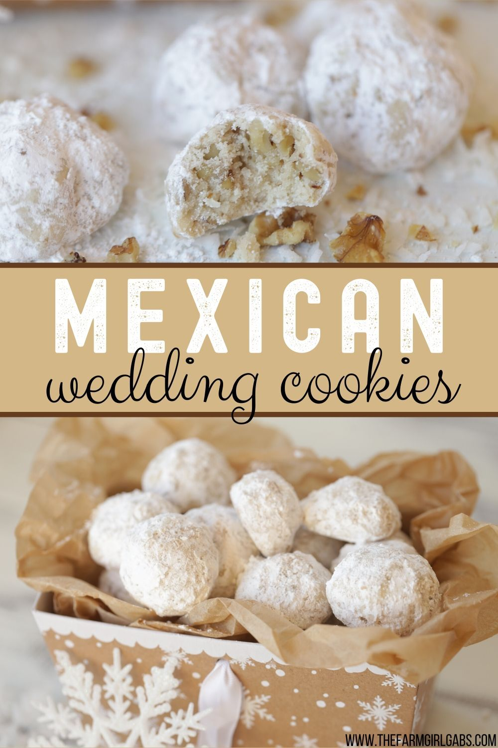 Mexican Wedding Cookies Snowball Cookies Recipe Mexican Wedding Cookies Mexican Wedding Cookies Recipes Wedding Cookies